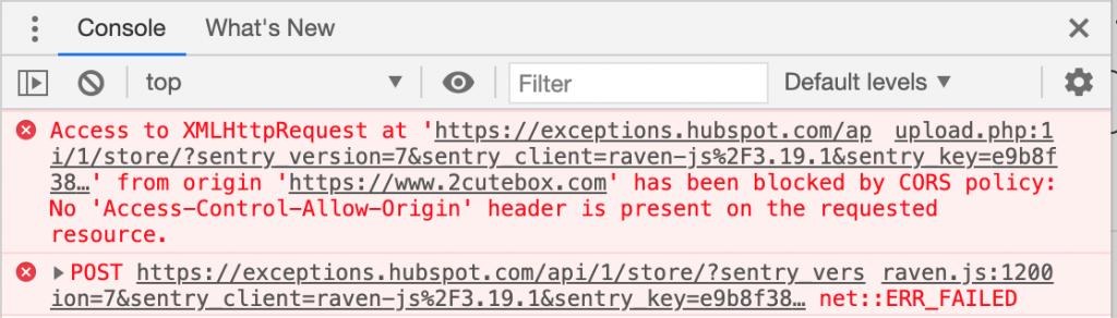 Press F12 and check error message in Developer Console